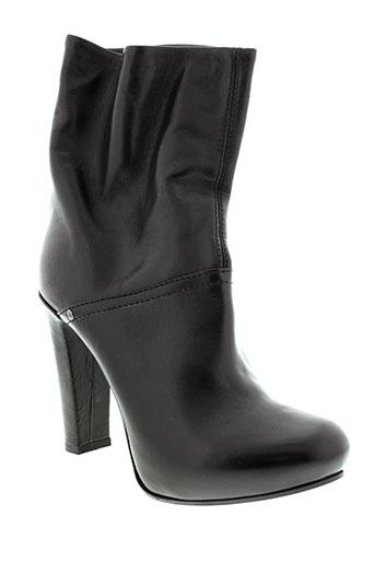 fornarina bottines femme de couleur noir