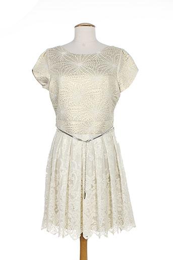 alain murati robes femme de couleur beige
