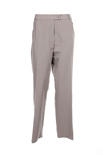 femmes je vous aime pantalons femme de couleur gris