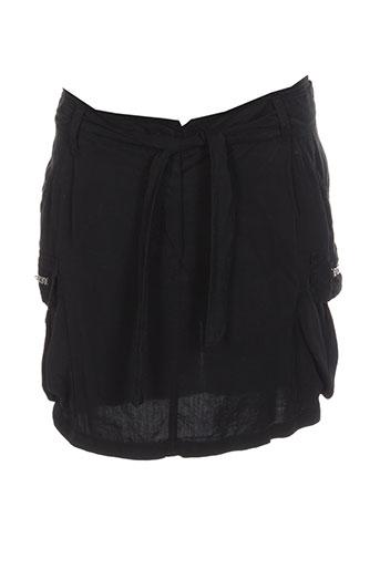 essentiel jupes femme de couleur noir