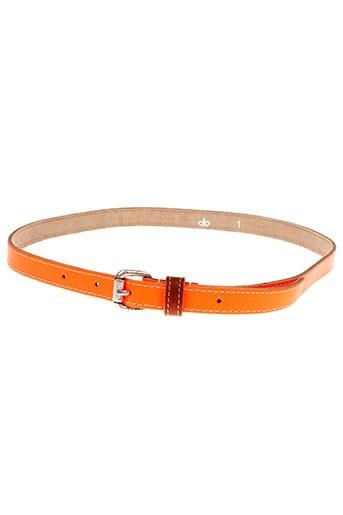 essentiel accessoires femme de couleur orange