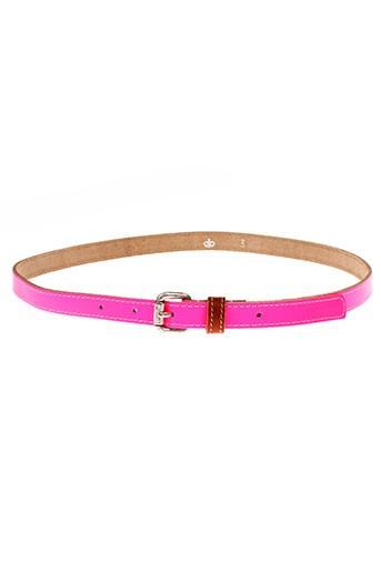 essentiel accessoires femme de couleur rose