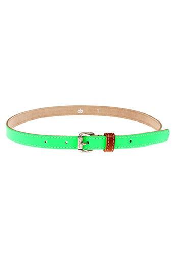 essentiel accessoires femme de couleur vert