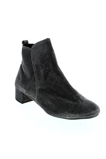reve d'un jour chaussures femme de couleur gris