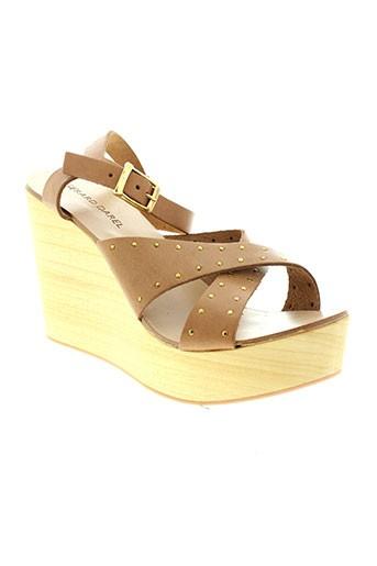 gerard darel chaussures femme de couleur marron
