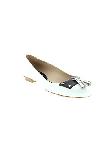 reve d'un jour chaussures femme de couleur blanc