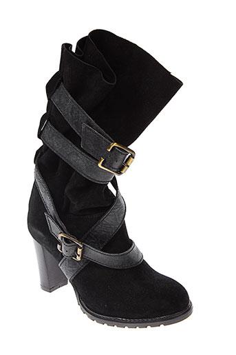 essentiel chaussures femme de couleur noir