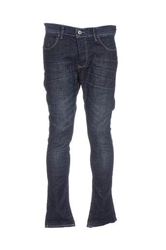 armita jeans homme de couleur bleu
