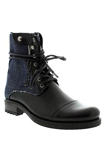 tiffosi boots homme de couleur noir