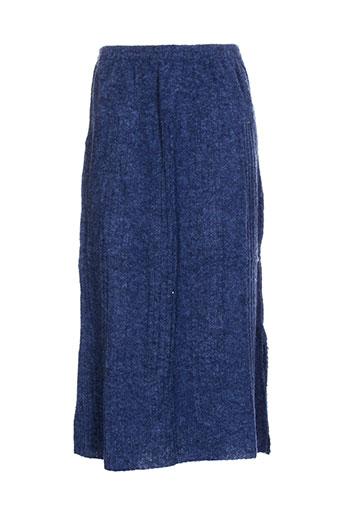caty lesca jupes femme de couleur bleu
