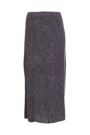 caty lesca jupes femme de couleur gris