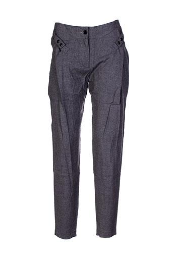 barbara bui pantalons femme de couleur gris