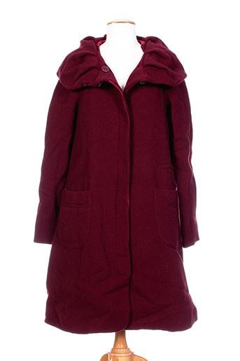 lilith manteaux femme de couleur rouge