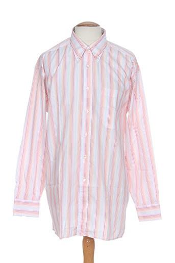 horizon chemises homme de couleur rose