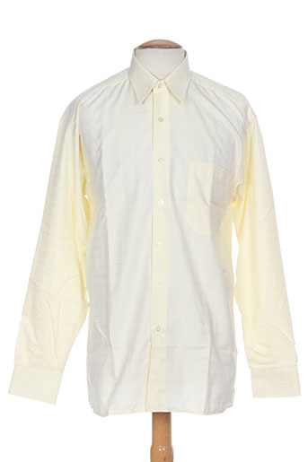 horizon chemises homme de couleur jaune