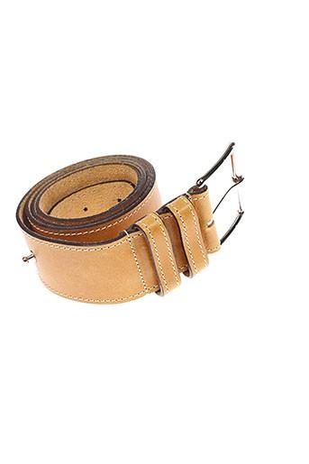 atelier et bower ceintures femme de couleur beige