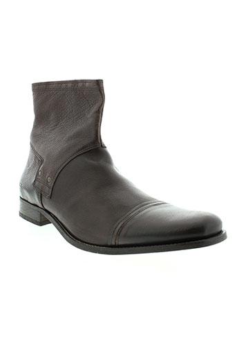 mexx boots homme de couleur marron