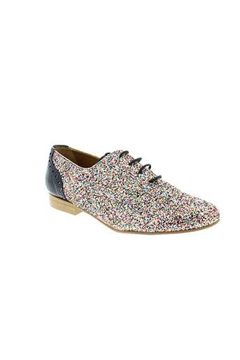 ambiance chaussures femme de couleur bleu