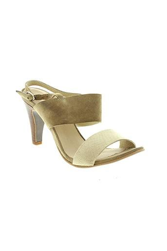 ambiance chaussures femme de couleur beige