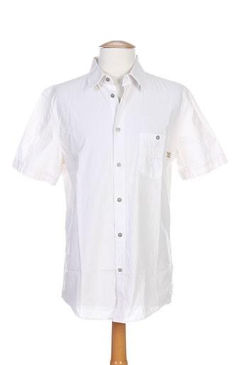 richmond chemises homme de couleur blanc