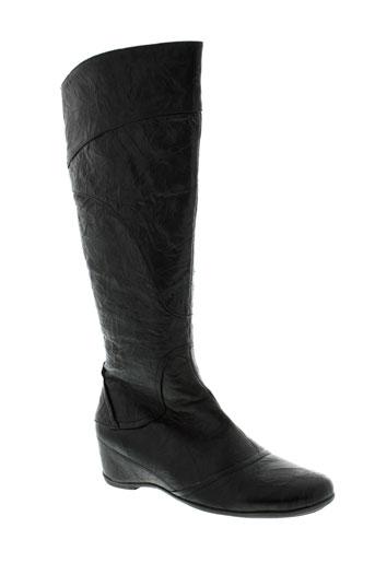 laura et vita bottes femme de couleur noir