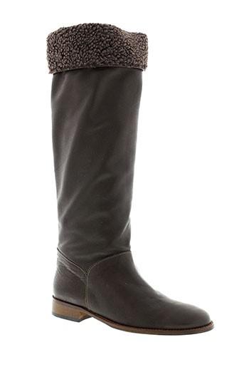flavio bottes femme de couleur marron