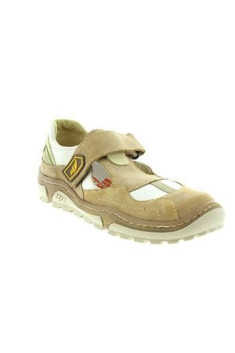 tty chaussures garçon de couleur beige