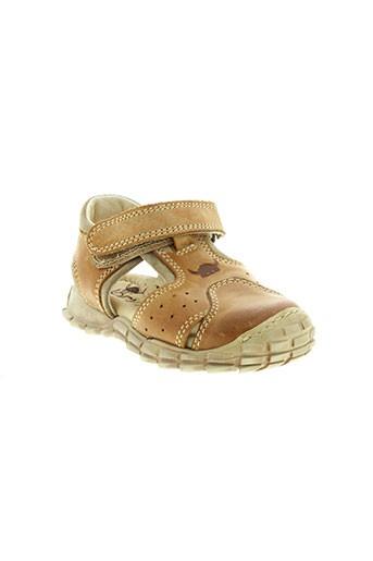 norvik sandales et nu et pieds garcon de couleur marron