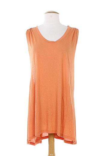 kai aakmann tuniques femme de couleur orange