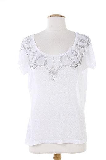 charlie joe t-shirts / tops femme de couleur blanc