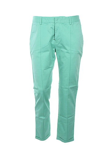 charlie joe pantalons femme de couleur vert