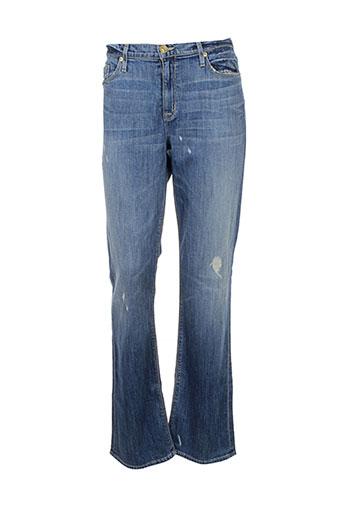 hudson jeans et coupe et droite femme de couleur bleu