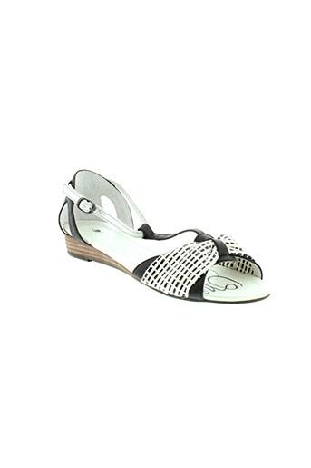 one et step sandales et nu et pieds femme de couleur noir