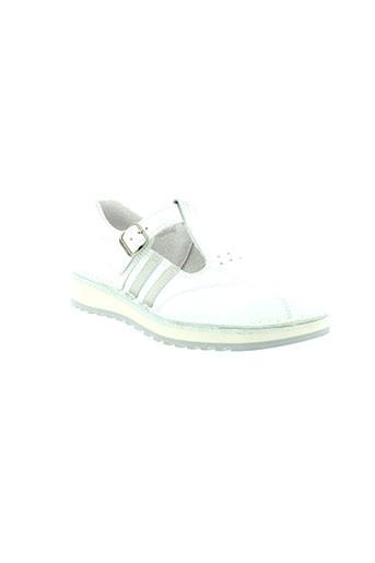 bopy chaussures garçon de couleur blanc