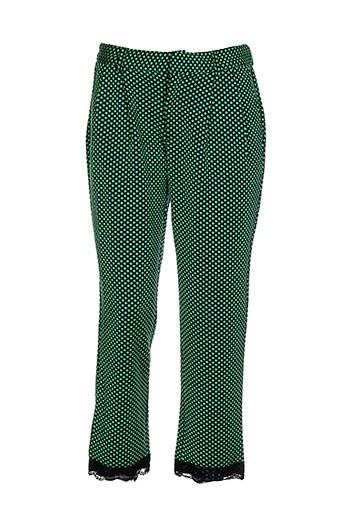 zoe la fee pantacourts femme de couleur vert