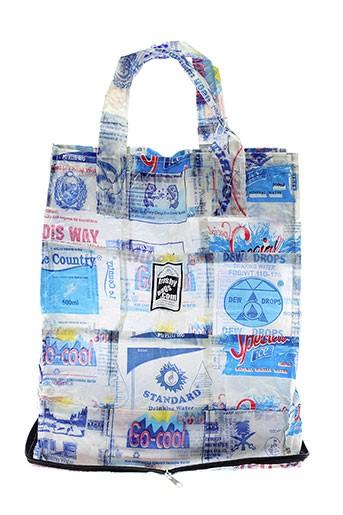 Sac bleu TRASHY BAGS pour unisexe