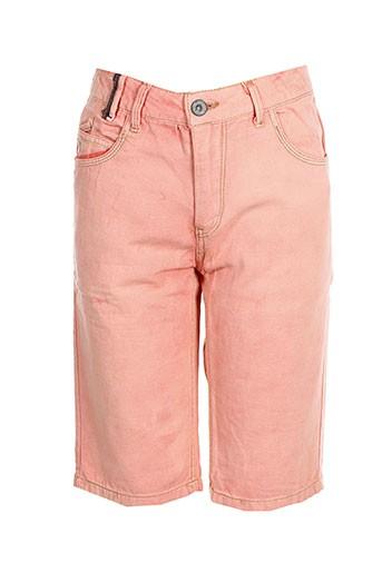 garcia shorts / bermudas garçon de couleur rose