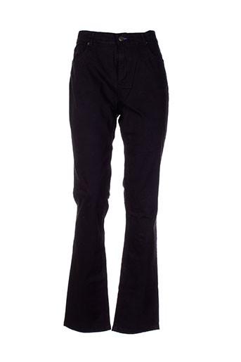 shams pantalons femme de couleur noir