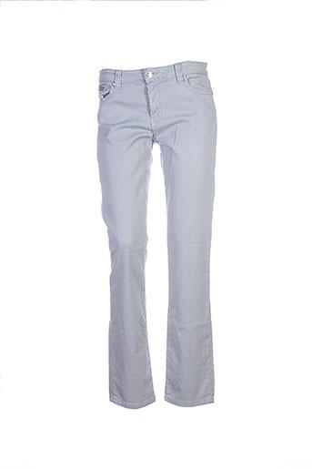Pantalon casual gris ISLOW pour femme