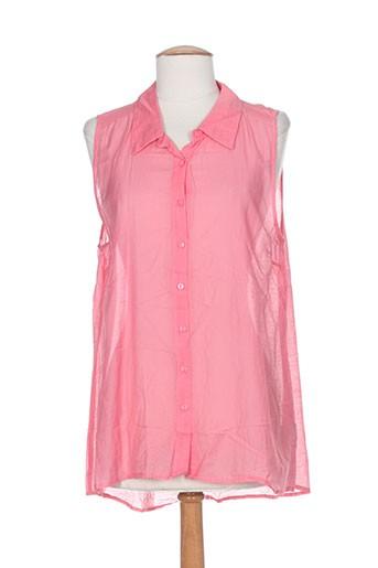 kaffe chemises femme de couleur rose