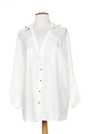 rinascimento chemises femme de couleur blanc