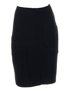 Jupe mi-longue noir EVA TRALALA pour femme