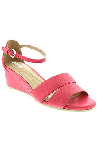 geox sandales et nu et pieds femme de couleur rose