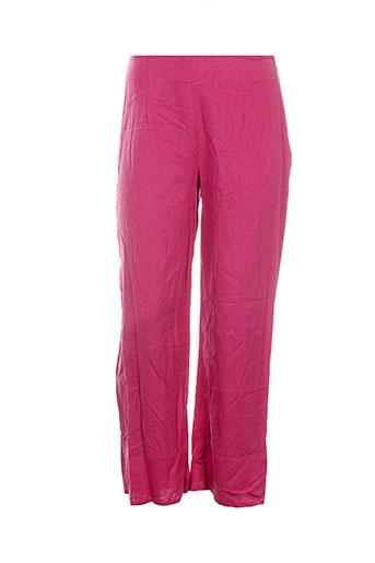 kokomarina pantalons et decontractes femme de couleur rose