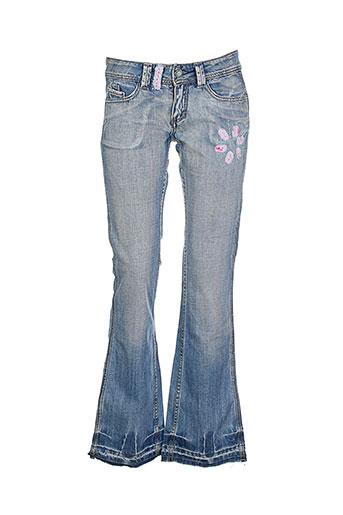 new london jeans femme de couleur bleu