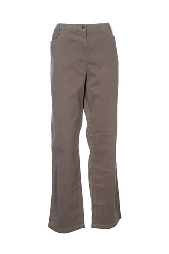 kiplay pantalons femme de couleur vert
