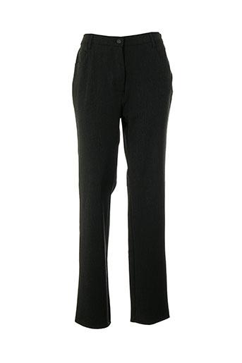pioneer pantalons femme de couleur gris