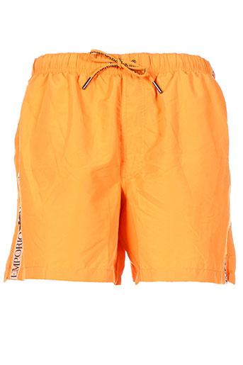 armani maillots de bain homme de couleur orange
