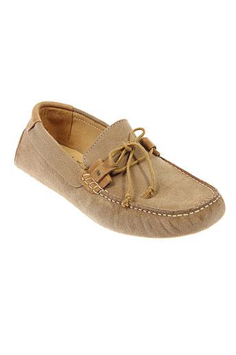 schmoove chaussures homme de couleur beige