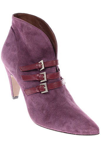 azuree boots femme de couleur violet